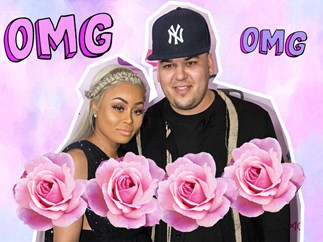 Rob Kardashian and Blac Chyna are in labour