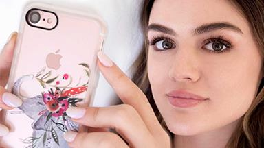 Lucy Hale now designs the most epic phone cases & tech accessories you're going to #WANT right now