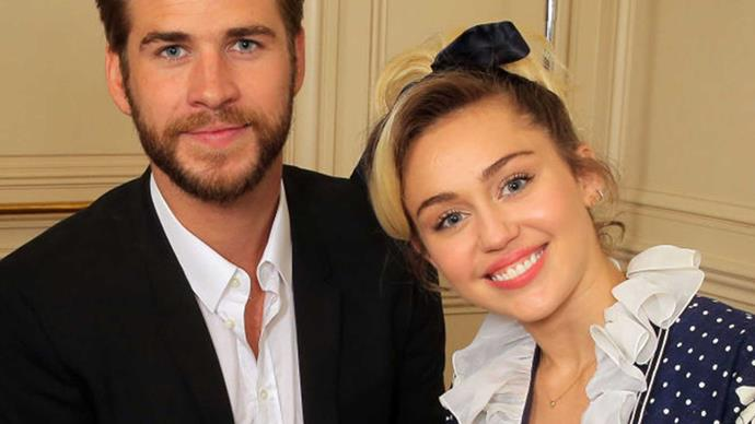 Liam Hemsworth spends Christmas with the Cyrus family