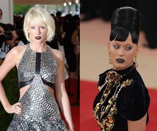 Taylor Swift totally shaded Katy Perry at the Met Gala