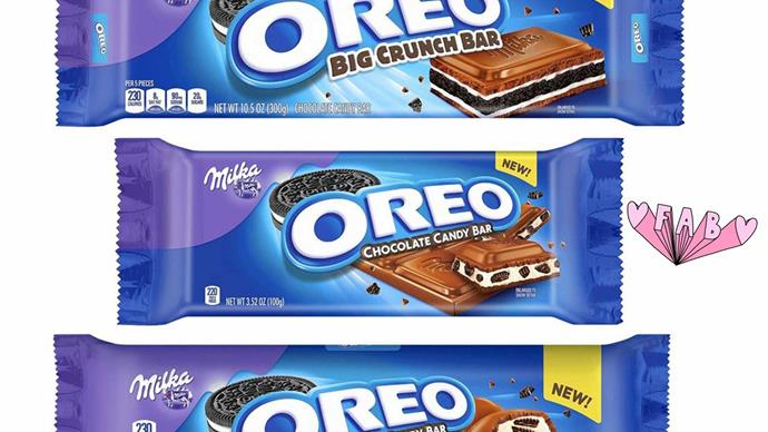 New Oreo chocolate bar now exists made by Oreo and Milka