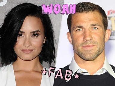 Demi Lovato shares an adorable photo of her and her new boyfriend on Instagram