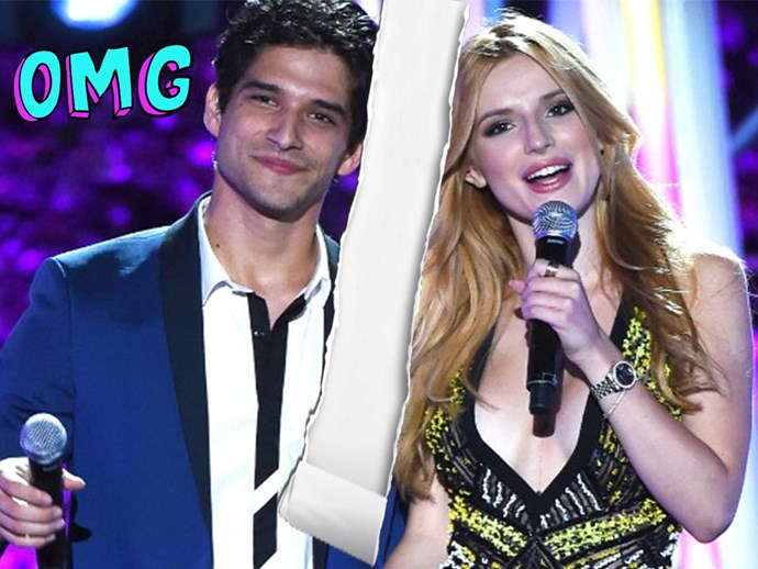 Bella Thorne and Tyler Posey break up