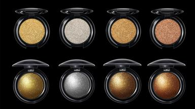 These new holographic eyeshadows are basically makeup porn