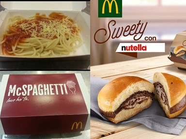 The craziest things McDonald's have ever come up with