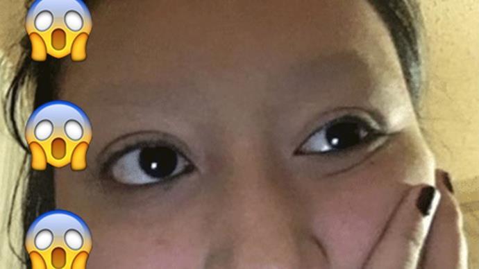Eyebrow shaving prank goes viral