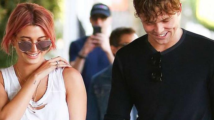 Ashton Irwin denies dating Hailey Baldwin