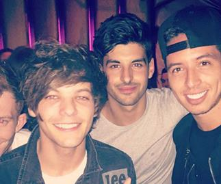 Who is Louis Tomlinson's really hot friend?