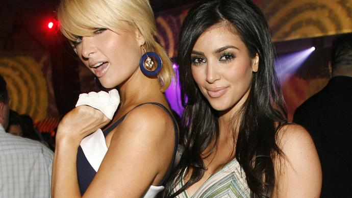 Kim Kardashian follows Paris Hilton on Instagram