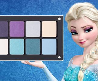 Disney Princess eyeshadow palettes exist