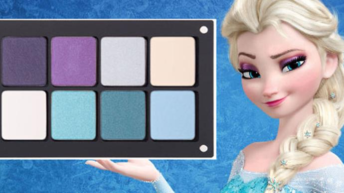 Disney Princess eyeshadow palettes exist