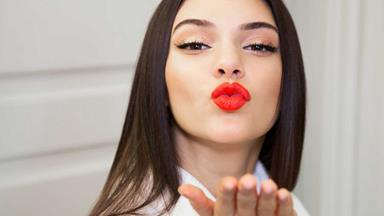 Kendall Jenner hits back after being accused of lip injections