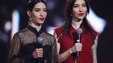 The Veronicas performed topless at the ARIAS