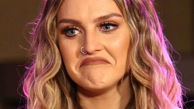 Watch Perrie Edwards b*tch slap a reporter when he mentions Zayn dumping her