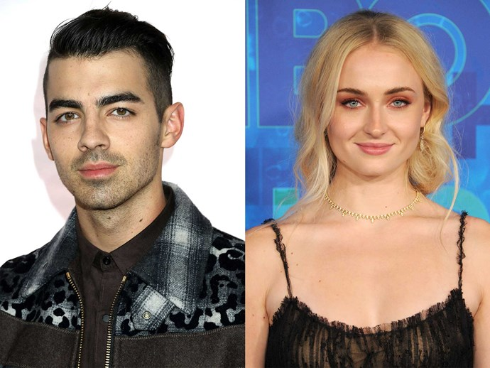 Joe Jonas and Sophie Turner spotted leaving hotel together