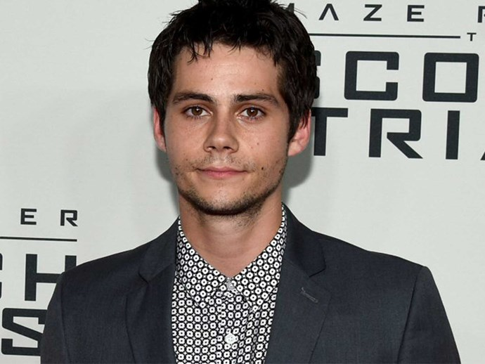 Dylan O'Brien is back filming after his accident