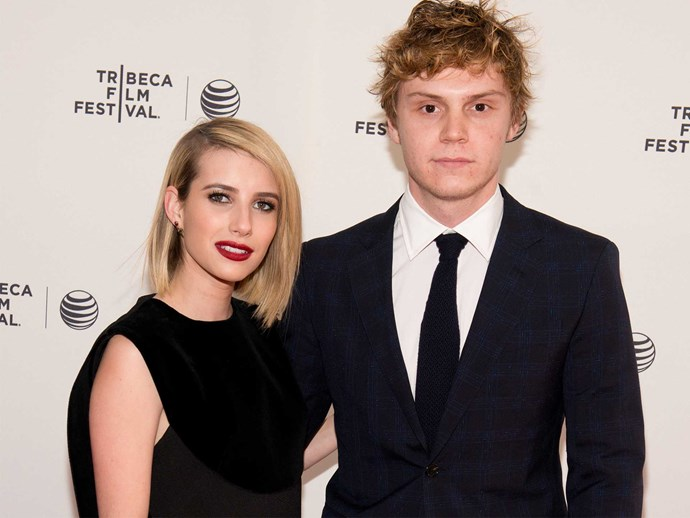 Are Evan Peters and Emma Roberts engaged again?