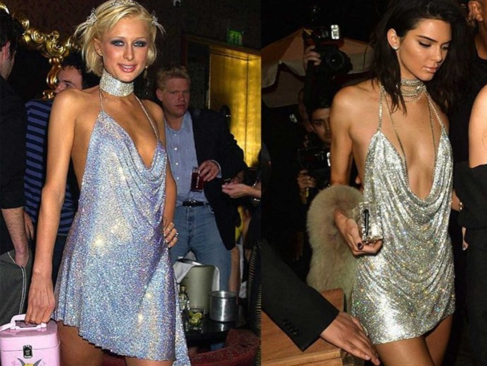 Paris Hilton addresses Kendall Jenner stealing her dress
