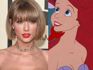 Taylor Swift and Todrick sing 'The Little Mermaid' song