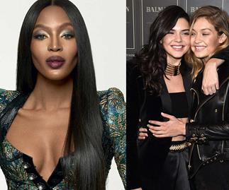 Naomi Campbell comments on Gigi Hadid and Kendall Jenner