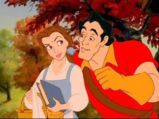 First look at Belle and Gaston's interactions in Beauty and the Beast