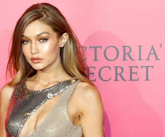 Gigi Hadid's wardrobe malfunction at the Victoria's Secret Fashion Show