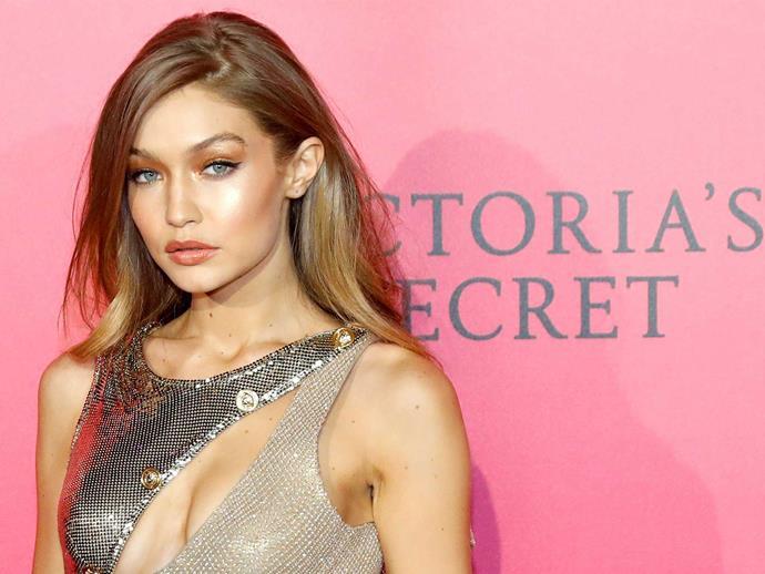 Gigi Hadid's wardrobe malfunction at the Victoria's Secret Fashion Show