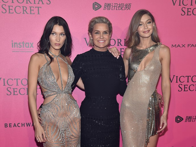 Yolanda Hadid slammed for Belle and Gigi throwback photo