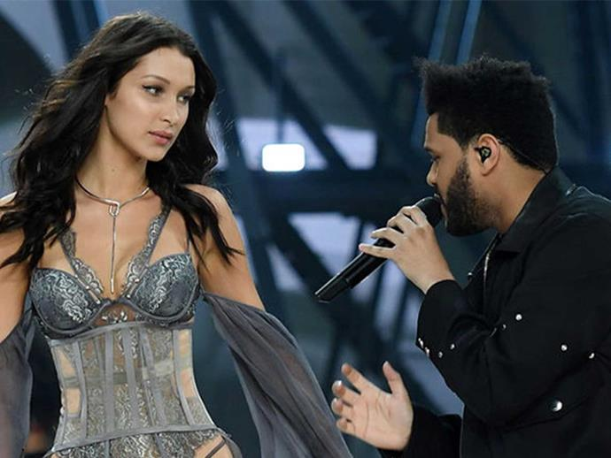 Bella Hadid and The Weeknd awkwardly bumped into each other