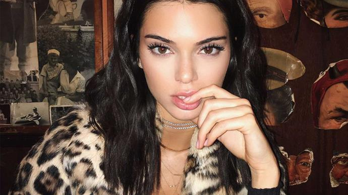Kendall Jenner has gotten her nips out again
