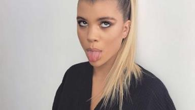 Sofia Richie hits back at a fan who told her to go kill herself