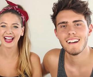 Zoella was accused of cheating because of this photo