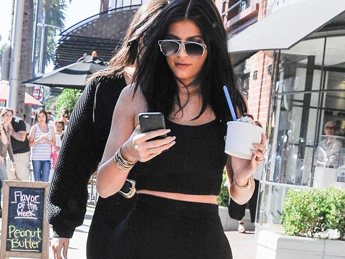 Kylie Jenner slams an app company who messed with her