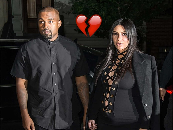 Are Kim Kardashian and Kanye West getting divorced?