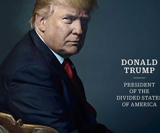 TIME Magazine slyly give Donald Trump devil horns