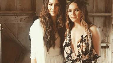 Sooo Troian Bellisario just got married and the pictures might make you weep