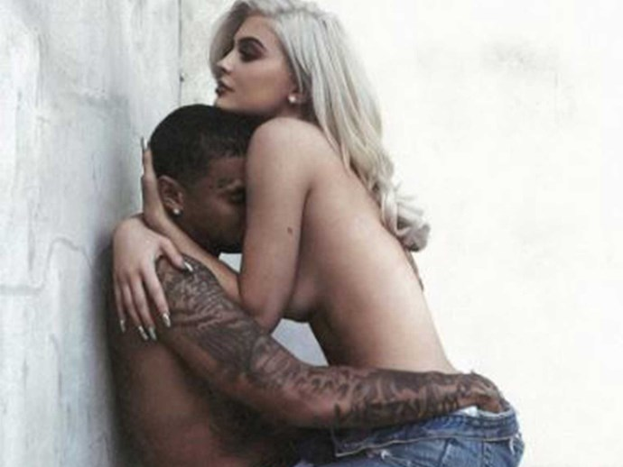 Video of Kylie Jenner and Tyga in bed at pop-up store