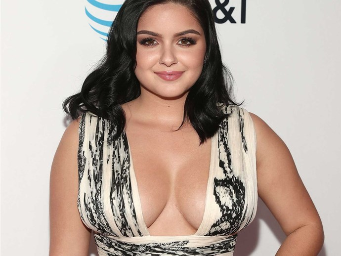 Ariel Winter's Christmas shoot