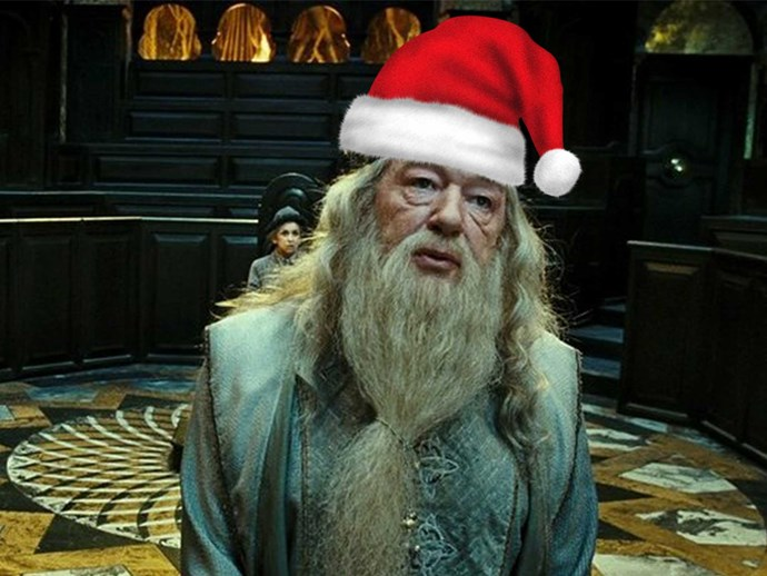 Theory connects Santa to Harry Potter