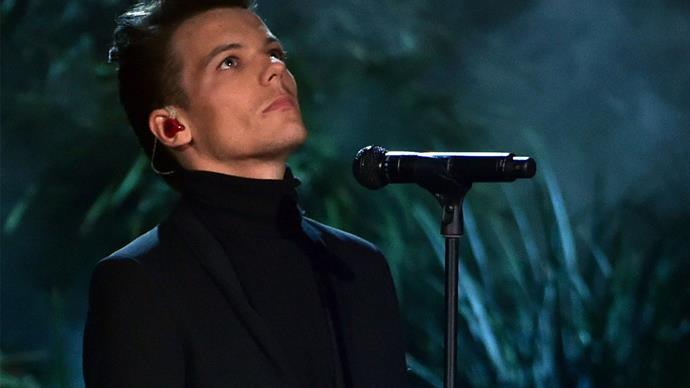 A fan has found a hidden message in Louis' tribute song