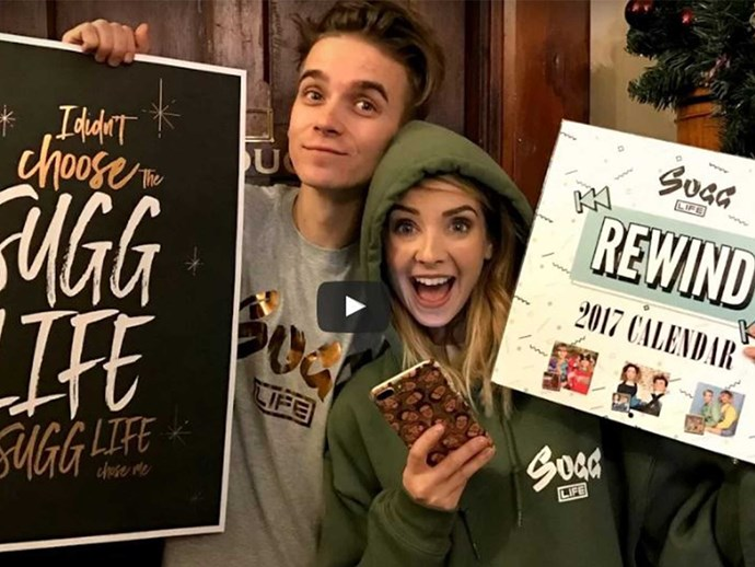 Zoe and Joe Sugg release a line of merchandise