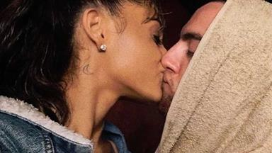 Ariana Grande has just taken her relationship with Mac Miller to the nek freakin' level