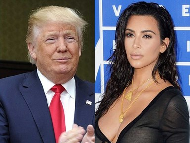 "Listen to Donald Trump say Kim Kardashian has a ""fat *ss"" on live radio"