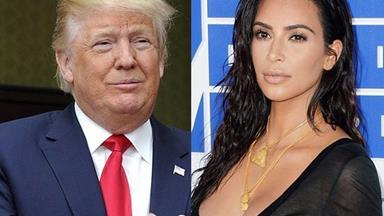 "Listen to Donald Trump say Kim Kardashian has a ""fat *ss"" on live radio"