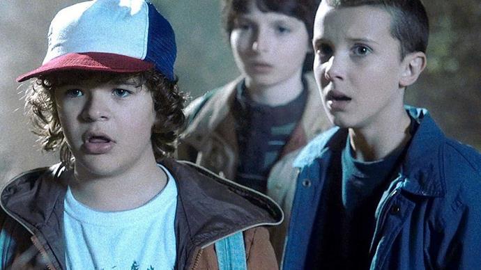 Stranger Things kids reaction to Golden Globes nomination