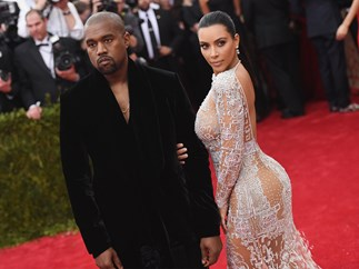 Kim Kardashian and Kanye West are living apart