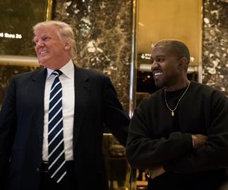 Donald Trump gave Kanye West this creepy af gift