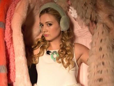 Billie Lourde has finally revealed why Chanel #3 always wears earmuffs