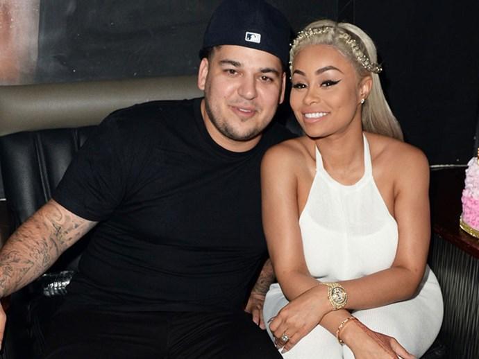 Blac Chyna and Rob Kardashian feud details
