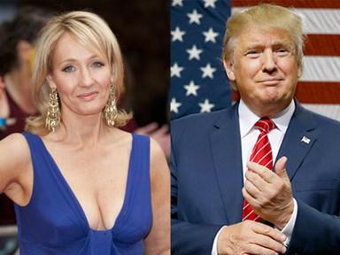 JK Rowling just burned Donald Trump on Twitter sooooo bad